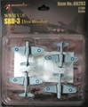 SBD-3 Dauntless Dive Bomber, Set of 4 (1:200) Includes decals