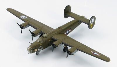 "B-24D Liberator, ""Screamin' Mimi 42-40997,""  565th BS, 389th BG, Norfolk, UK, 1943 (1:144)"
