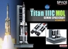 Titan IIIC MOL Gemini Spacecraft w/Launch Pad (1:400)