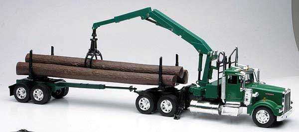 Kenworth W900 with Log Hauler  (1:32)