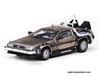 Back To The Future Part II DeLorean (1:43, Stainless Steel)