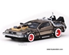 Back To The Future Part III DeLorean (1:43, Stainless Steel)
