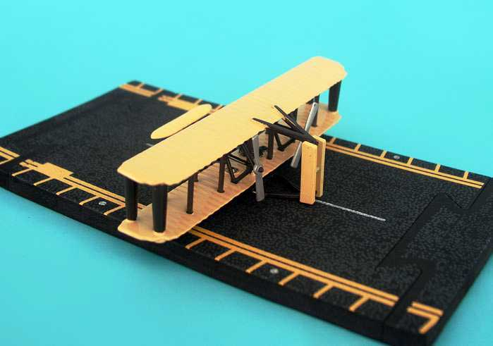 "Wright Flyer (Approx. 5"")"