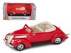 1937 Ford V8 Convertible Red (1:43)