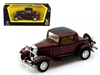 1932 Ford 3 Window Coupe Burgundy (1:43)