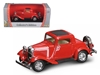 1932 Ford 3 Window Coupe Red (1:43)