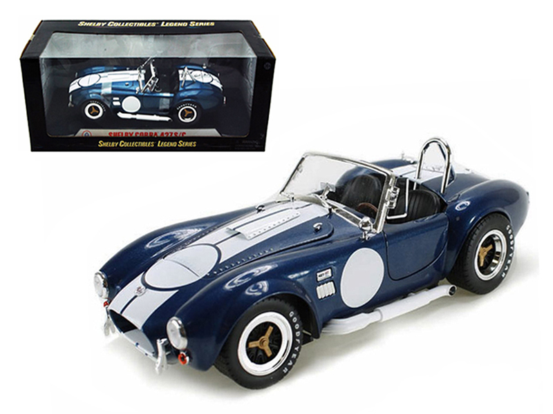 1965 Shelby Cobra 427 SCWith Printed Carroll Shelby Signature (1:18) Black