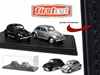 First Cut 1938-53 Volkswagen Beetle Split Window Hobby Only Exclusive 2 Cars Set (1:64)