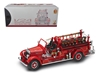 1935 Mack Type 75BX Fire Truck Red with Accessories (1:24)