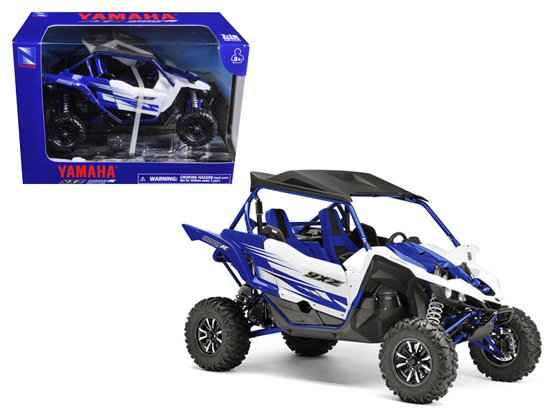 Yamaha YXZ 1000R Triple Cylinder Blue Buggy (1:18) Diecast Model