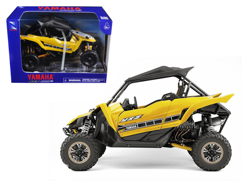 Yamaha YXZ 1000R Triple Cylinder Yellow Buggy (1:18) Diecast Model