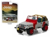 1993 Jeep Wrangler YJ Red and Grey Hobby Exclusive (1:64)