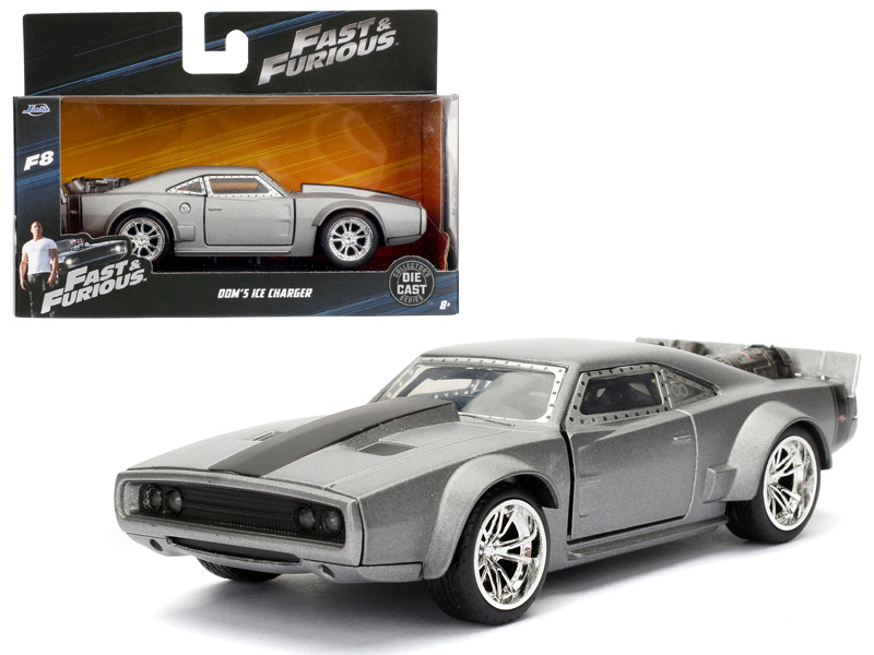 "Dom's Ice Charger Fast & Furious F8 ""The Fate of the Furious"" Movie 1/32 Diecast Model Car by Jada"