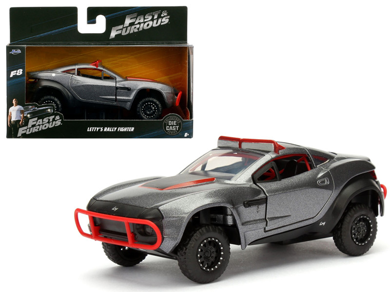 "Letty's Rally Fighter Fast & Furious F8 ""The Fate of the Furious"" Movie 1/32 Diecast Model Car by Jada"