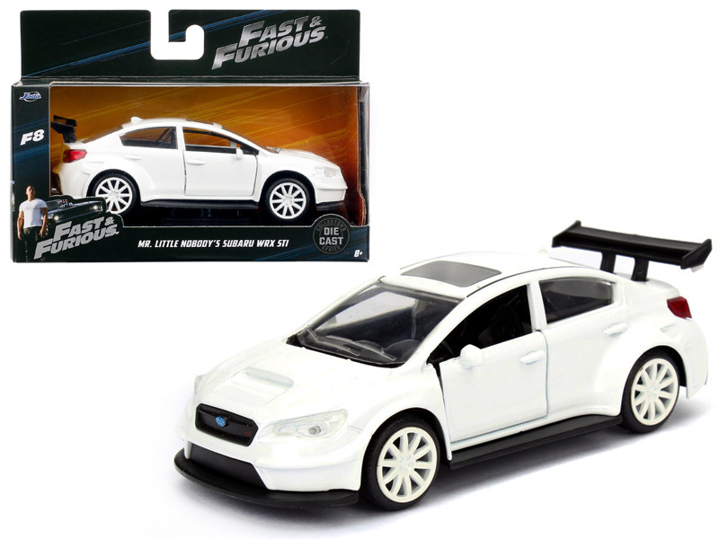 "Mr. Little Nobody's Subaru WRX STI Fast & Furious F8 ""The Fate of the Furious"" Movie 1/32 Diecast Model Car by Jada"