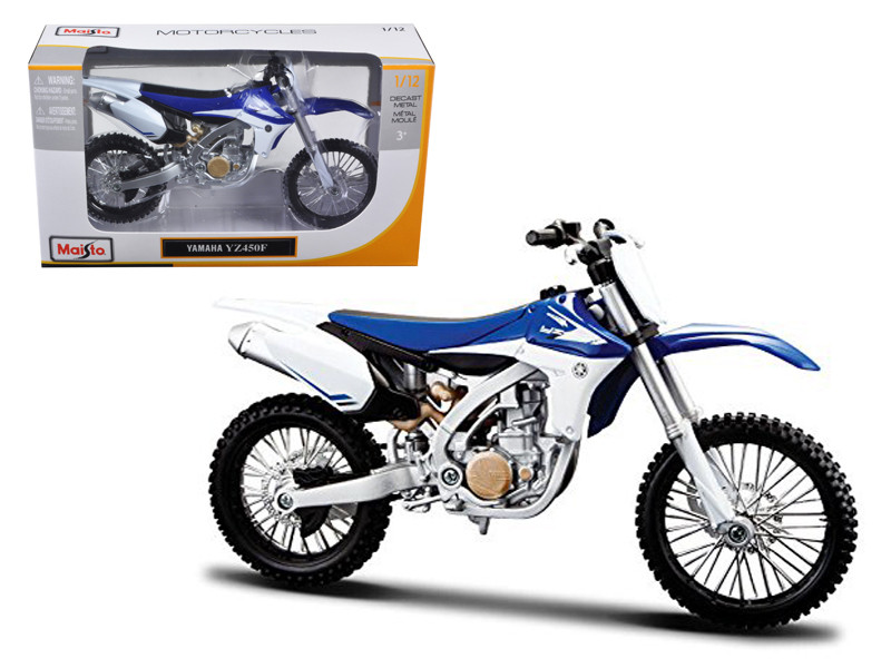 Yamaha YZ450F Motorcycle Model (1:12)