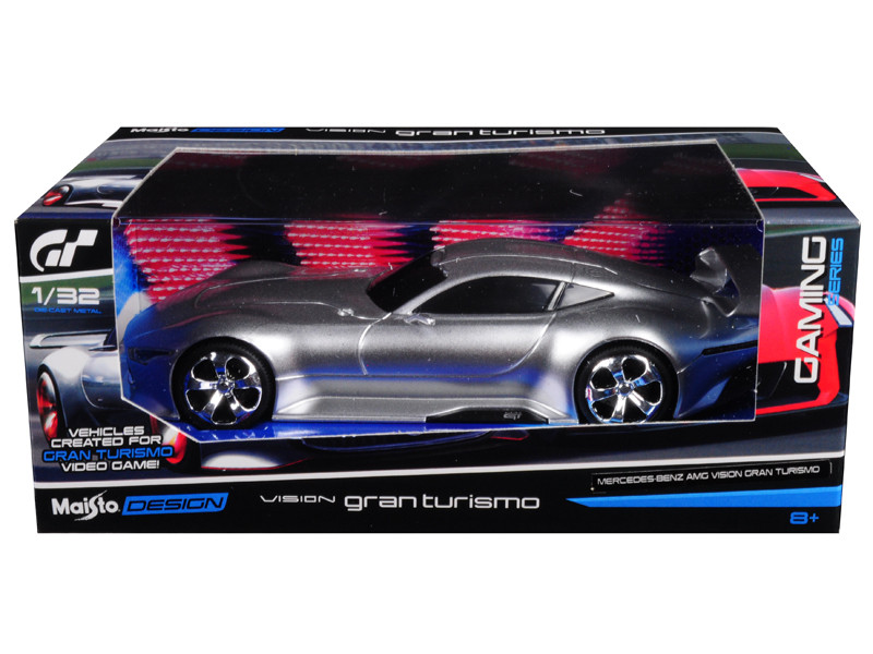 Mercedes AMG Vision Gran Turismo Silver 1/32 Diecast Model Car by Maisto