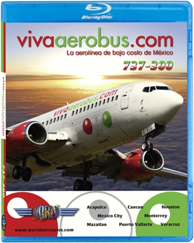 VivaAerobus 737-300 (BluRay DVD)