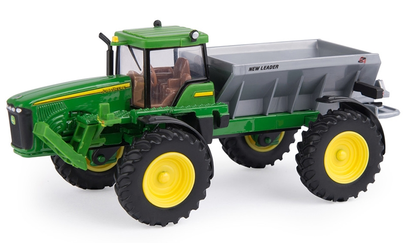 John Deere Dry Box Spreader (1:64)