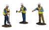 Construction Figures 3-Piece Set Worker digging (1:50)