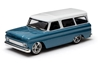 1966 Chevrolet Suburban in Blue (1:43)