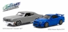1970 Chevrolet Chevelle SS and 2002 Nissan Skyline GT-R Drag Scene - Fast and Furious 2009 - Fast and Furious 2-Pack (1:43)