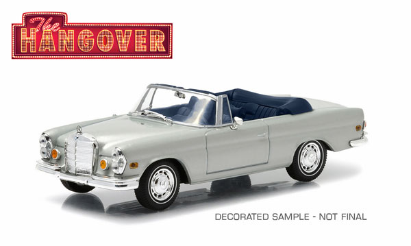 1969 Mercedes-Benz 280 SE Convertible - The Hangover 2009 (1:43)