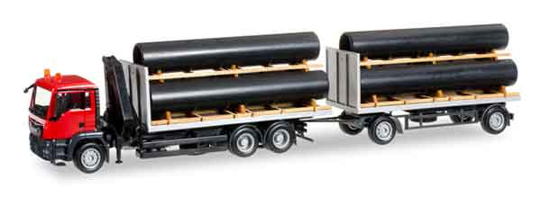 MAN Combi Truck and Trailer (1:87)
