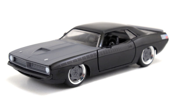 Letty's Plymouth Barracuda - Furious 7 2015 -Scale is approximate (1:32)