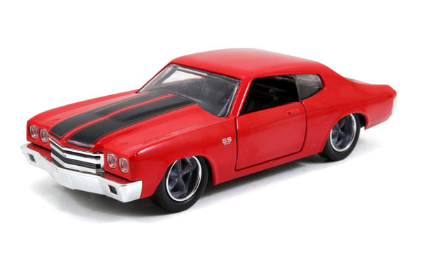 Dom's Chevy Chevelle SS in Red - Fast and Furious 2009 -Scale is approximate (1:32)