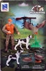 Hunting Set - This set includes a hunter dogs and ducks