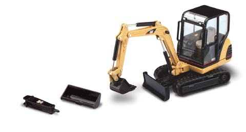 Caterpillar 302.5 Mini-Hydraulic Excavator (1:32)