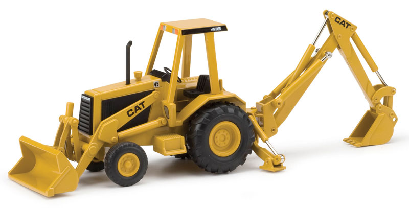 Caterpillar 416 Backhoe Loader Circa 1985 trade dress (1:32)