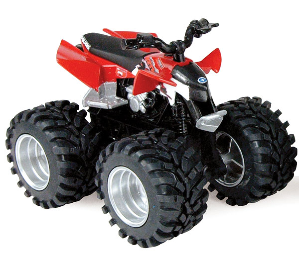 Polaris 4 Wheeler in Red