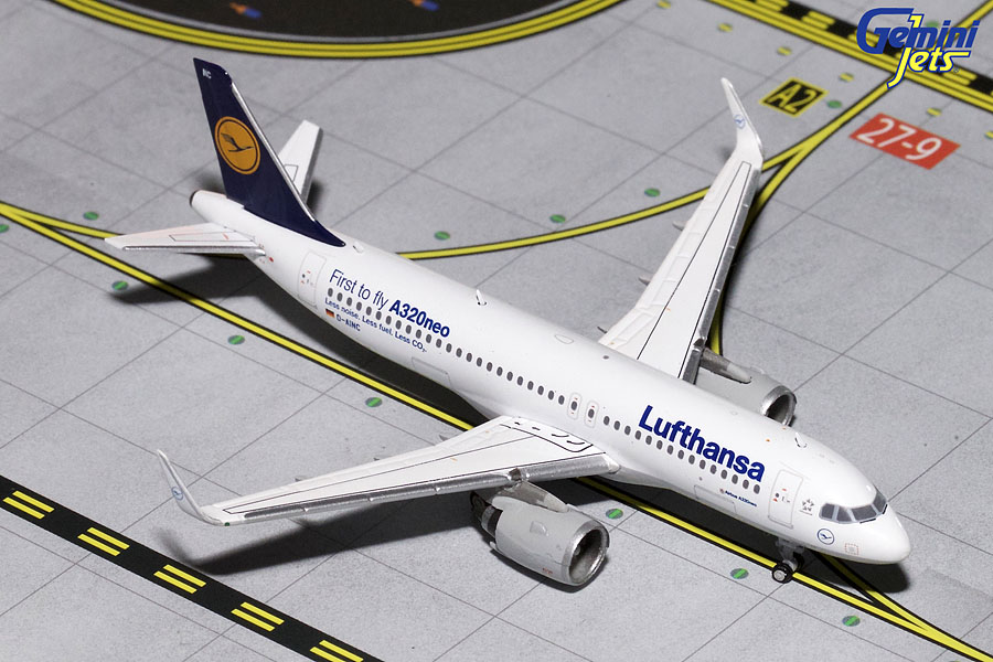 Lufthansa A320neo D-AINC (1:400) - Preorder item, order now for future delivery