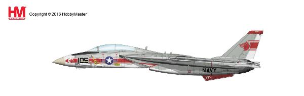 "F-14A Tomcat, NK105/158984, VF-1 ""Wolfpack"", USS Enterprise 1975 - Preorder item, order now for future delivery"