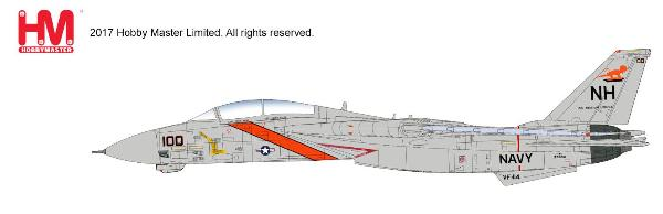 "F-14A Tomcat, VF-114 ""Aardvarks"", CVW-11, USS Abraham Lincoln, 1991 (1:72) - Preorder item, Order now for future delivery"