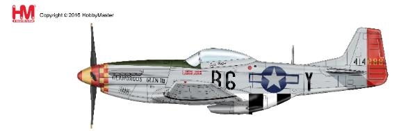 P-51D Mustang, Glamorous Glenn III, 44-14888, 363rd FS, 357th FG, Nov. 1944, Capt. Chuck Yeager (1:48) - Preorder item, order now for future delivery