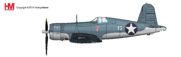 F4U-1 Corsair No.15 flown by James N Cupp, VMF-213, Munda 1943 (1:48) - Preorder item, order now for future delivery