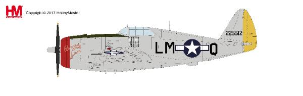 P-47D Thunderbolt II Captain Robert Johnson, 62nd FS/56th FG, Boxted, April 1944 (1:48) - Preorder item, order now for future delivery