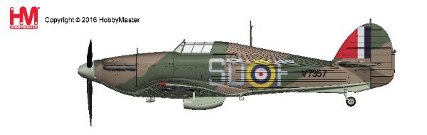"Hawker Hurricane I SD-F, Sqn Ldr James ""Ginger"" Lacey, No. 501, Gravesend, Sept 1940 (1:48) - Preorder item, order now for future delivery"