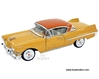 Cadillac Series 62 Coupe de Ville Hard Top (1957, 1:32 scale diecast model car, Yellow) 32359