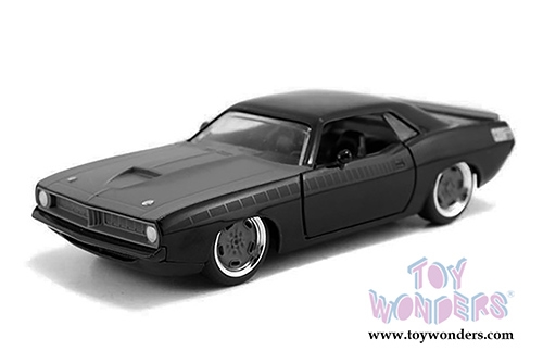 Letty's Plymouth Barracuda Hard Top (1/32 scale diecast model car, Black)