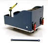 Ballast Box for Kenworth K200 Truck in Metallic Blue (1:50)
