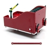 Ballast Box for Kenworth K200 Truck in Red (1:50)