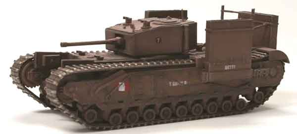Churchill Mk.III Fitted for Wading Operation Jubilee Dieppe France 1942  (1:72)
