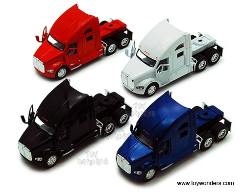 Kenworth T700 Tractor (1:68 scale diecast model car, Assorted Colors.)