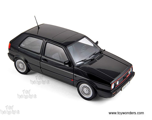 Volkswagen Golf GTI Hard Top (1990, 1/18 scale diecast model car, Black)