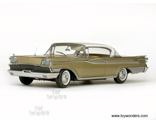 Mercury Park Lane Hard Top (1959, 1/18 scale diecast model car, Marble White/Golden Beige)