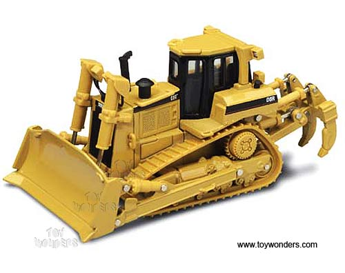 Cat D8R Series II Track-Type Tractor (1/50 scale diecast model car, Yellow)